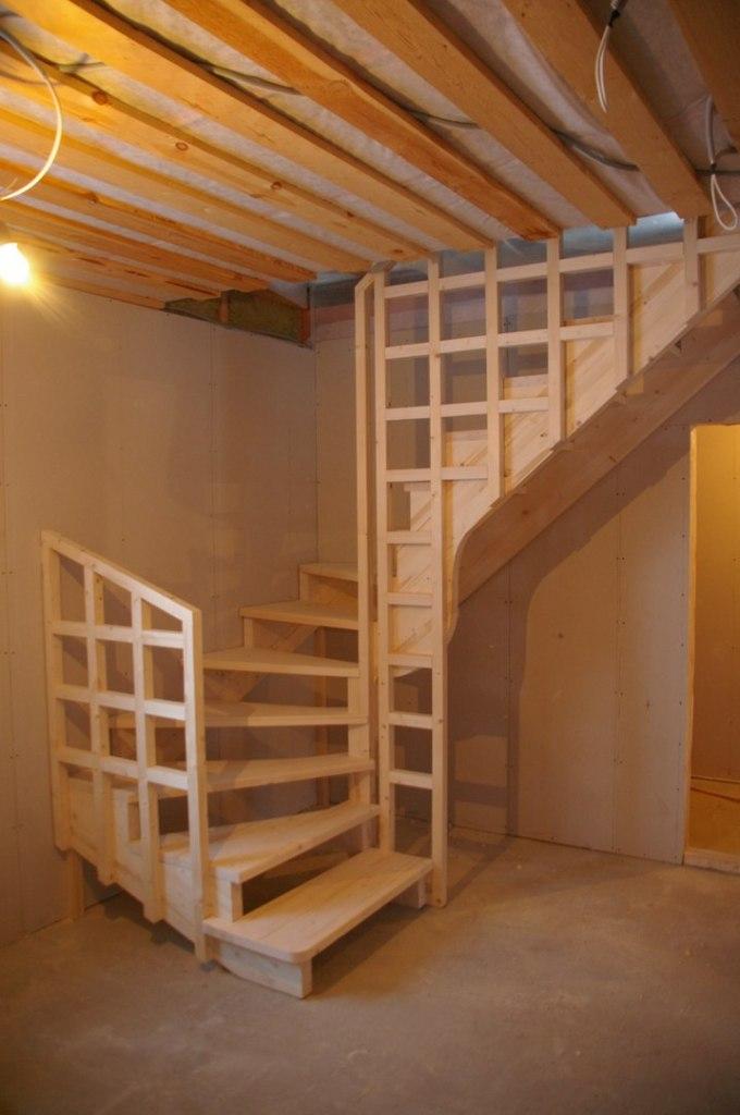 Лестницы на второй этаж своими руками пошаговая  372