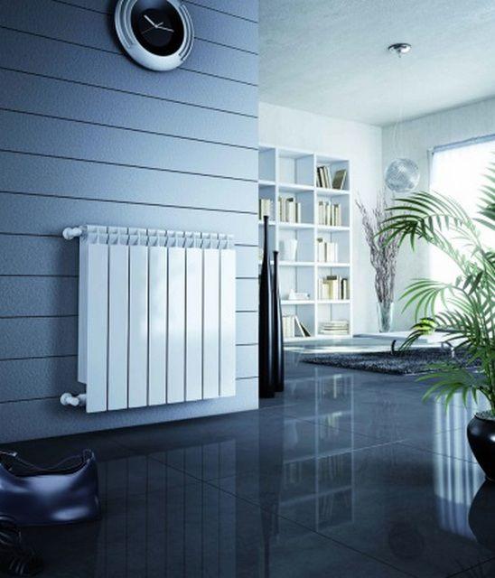 Алюминиевые радиаторы больше подходят для автономных систем отопления
