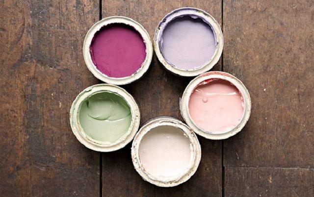 Выбор красок для пола - достаточно широк