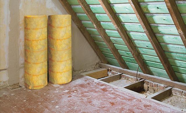 Оптимальным выбором для утепления крыши остается минеральная вата