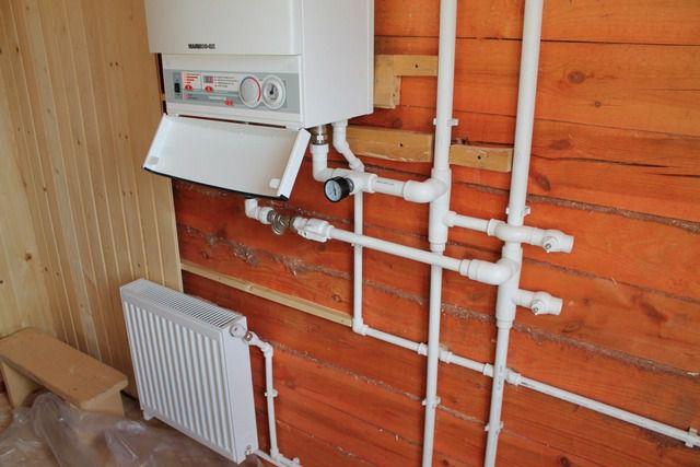 Водяная система отопления с электрическим котлом