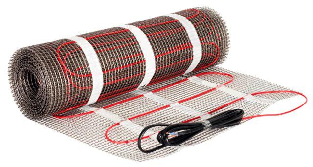 Нагревательные маты на полимерной сетке облегчают процесс укладки