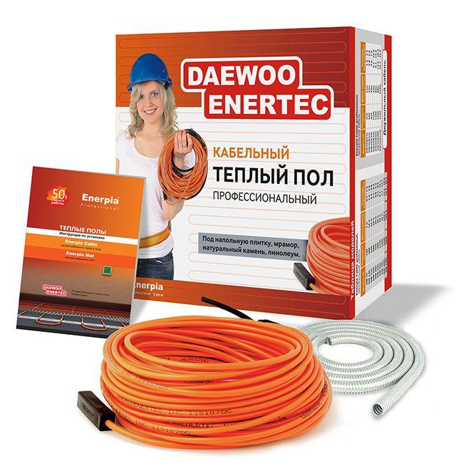 Комлект резистивного кабеля фиксированной длины вместе с монтажным комплектом