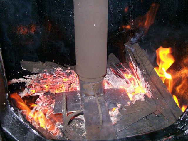 Процесс поверхностного горения