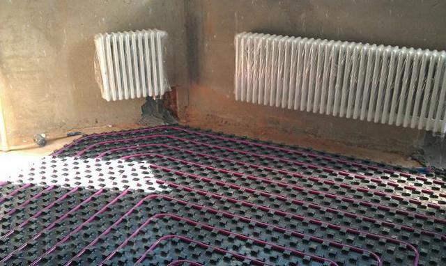 Как сделать тёплый пол от отопления
