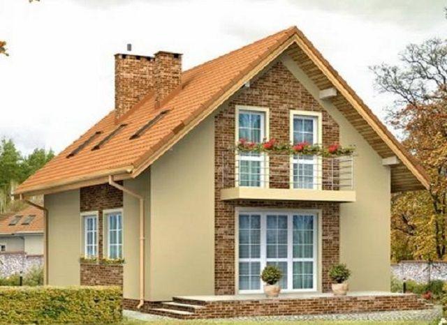 В частном жилом строительстве чаще всего применяются двускатные крыши
