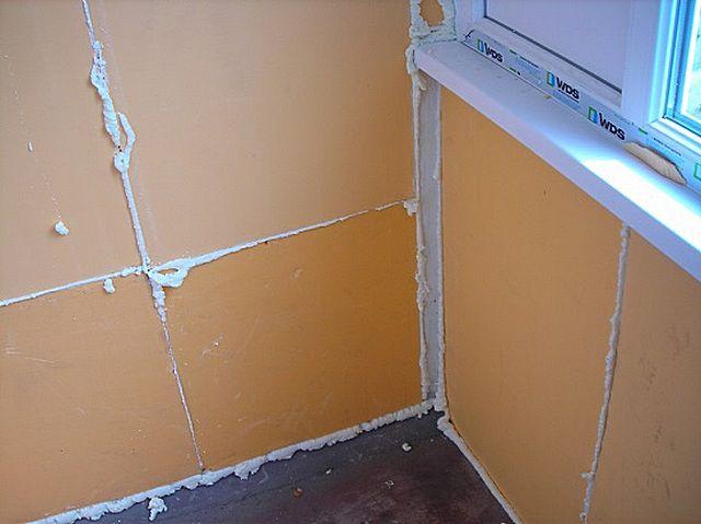 Утепление стен плитами экструдированного пенополистирола без обрешетки