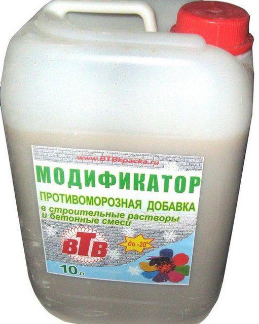 Один из видов модифицирующих добавок в бетонный расвор