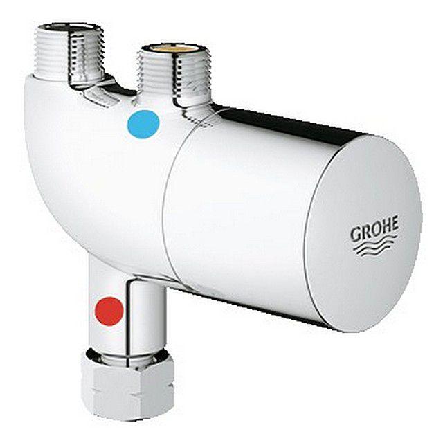 Термостат всегда поддерживает точно выставленную температуру воды