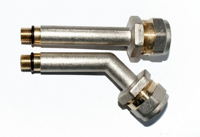 Штуцера (иглы) с фитингами под металлопласт