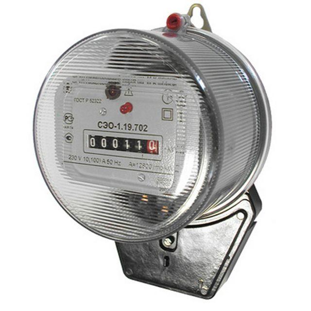 Электронный импульсный счетчик с электромеханической индикацией