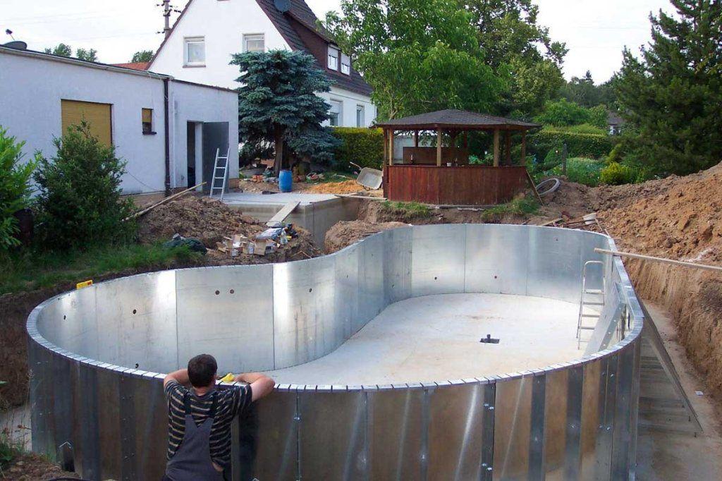 Бассейны из подручных материалов фото
