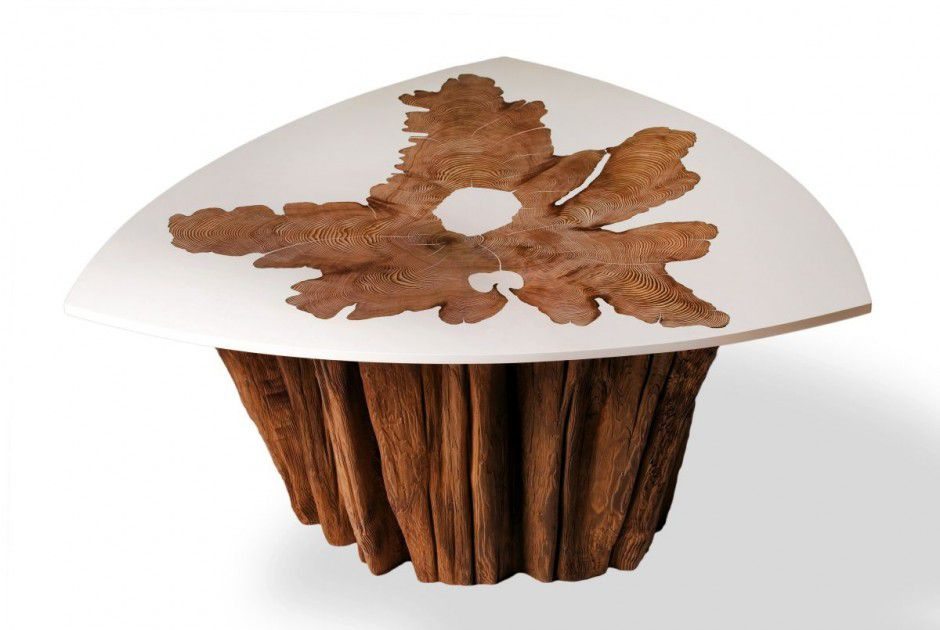 Вариант столешницы для дачного стола