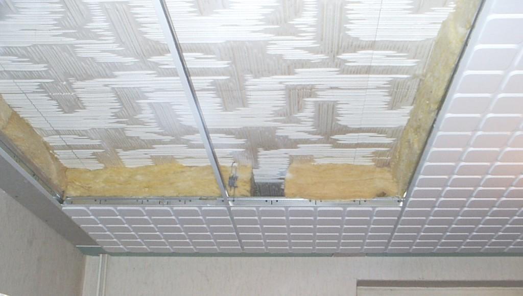 Вариант утепления потолка