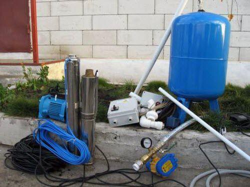 Водопровод на даче своими руками
