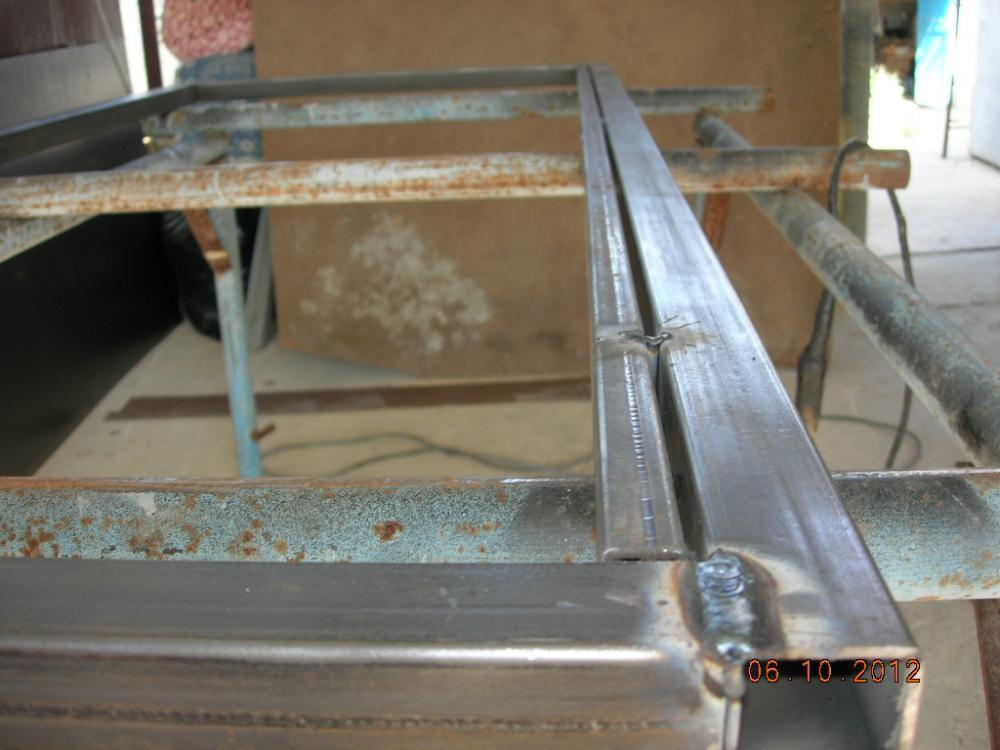 Дверная коробка из квадратной трубы