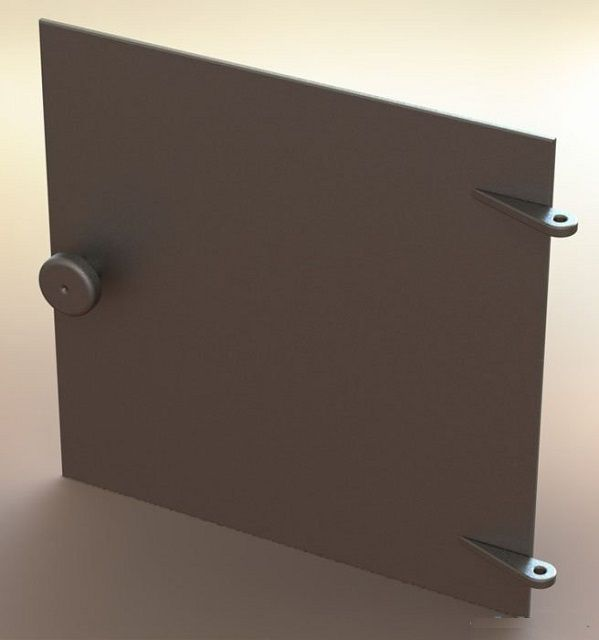 Дверца топочной камеры