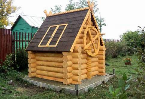 Декорирование домика