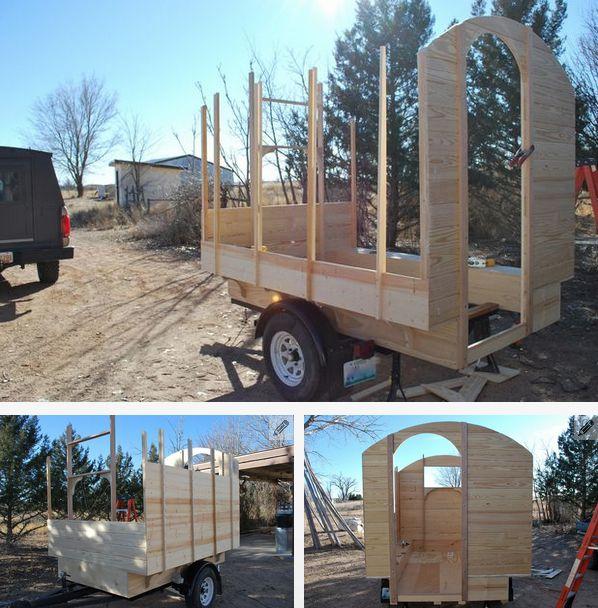 Своими руками строим дом на колесах