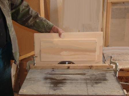 Изготовление деревянных дверей своим руками