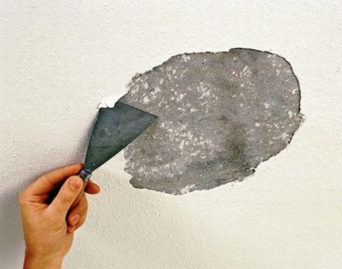 Как очистить потолок