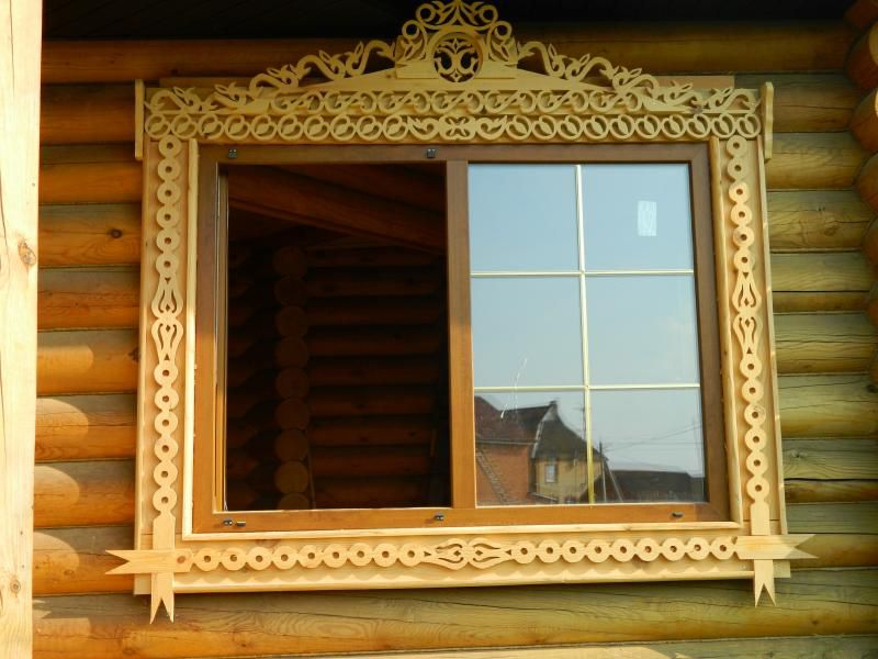 Деревянные окна наличники своими руками