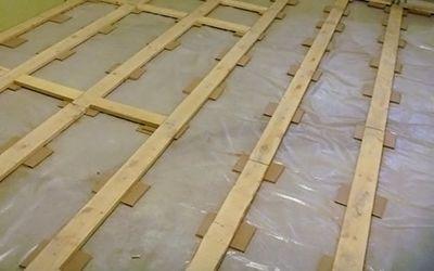Выровнять деревянные полы своими руками