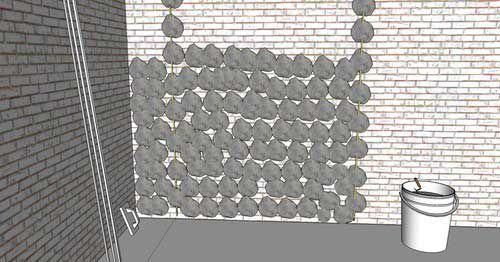 Набрасываем раствор на новенькую стену вашей квартиры