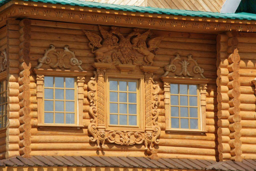 Фото деревянных окон своими руками