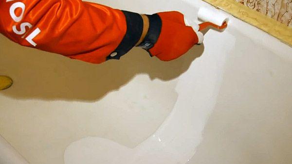 Эмалировка ванны своими руками