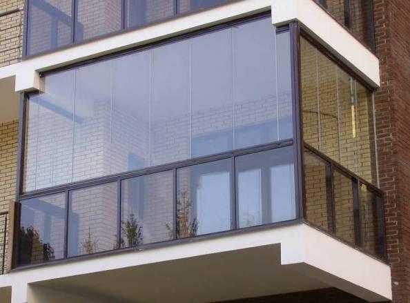 Застекление балконов своими руками