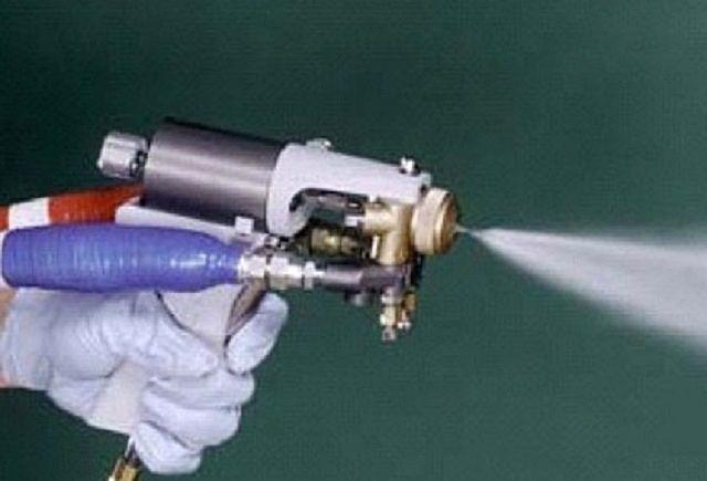 Пистолет-пульвелизатор для нанесения пенополиуретана