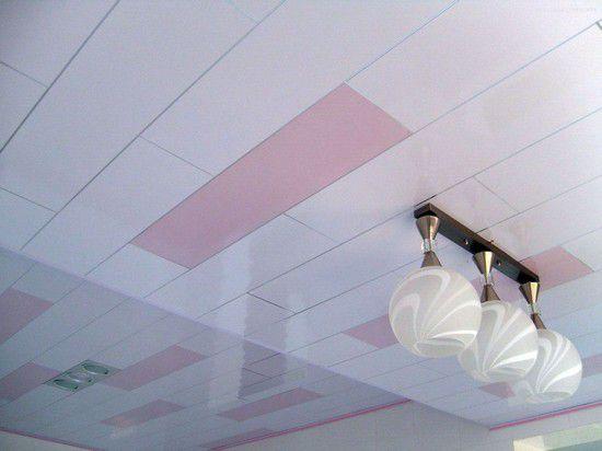 Пластиковый подвесной потолок