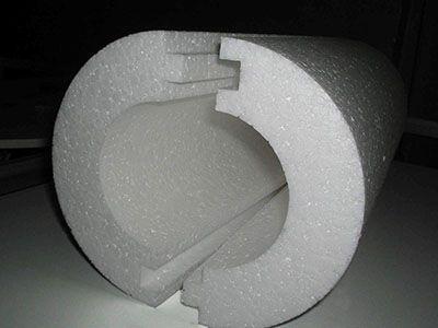 Полистирольная «скорлупа» для утепления труб