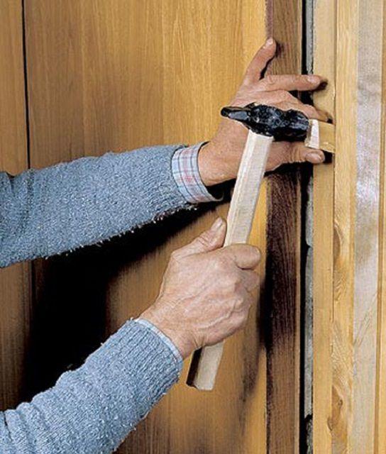 Как заменить межкомнатную дверь своими руками пошаговая инструкция 70