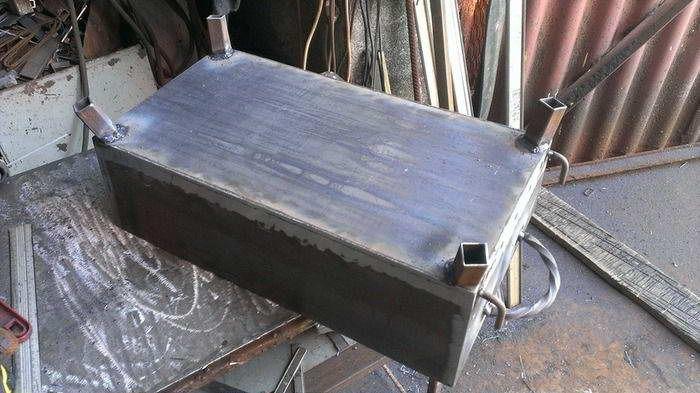 Сборка мангала