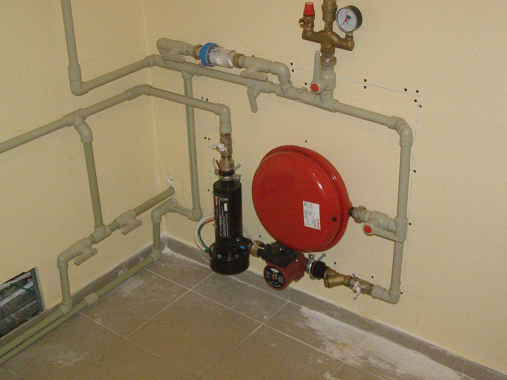 Сборка системы отопления