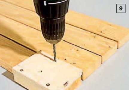 Сверловка по шаблону из фанеры