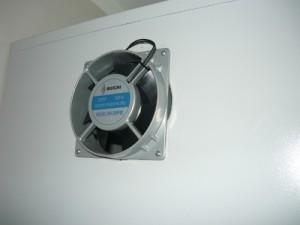 Смонтированный вентилятор