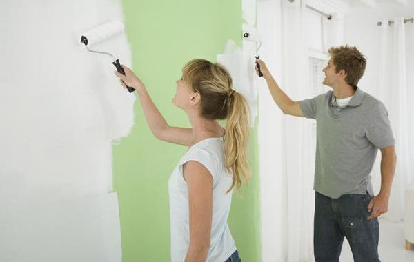 Стены можно окрасить