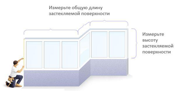 для остекления балкона