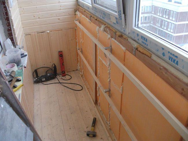 С чего начать ремонт балкона пошаговая инструкция фото
