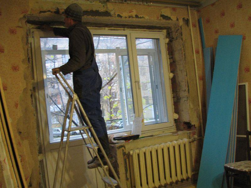 Сделать пластиковые откосы на окнах своими руками