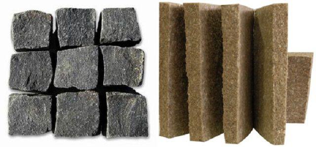 Шлаковата - уступает в эффективности и, кроме того, может быть нежелательна для металлических деталей конструкции