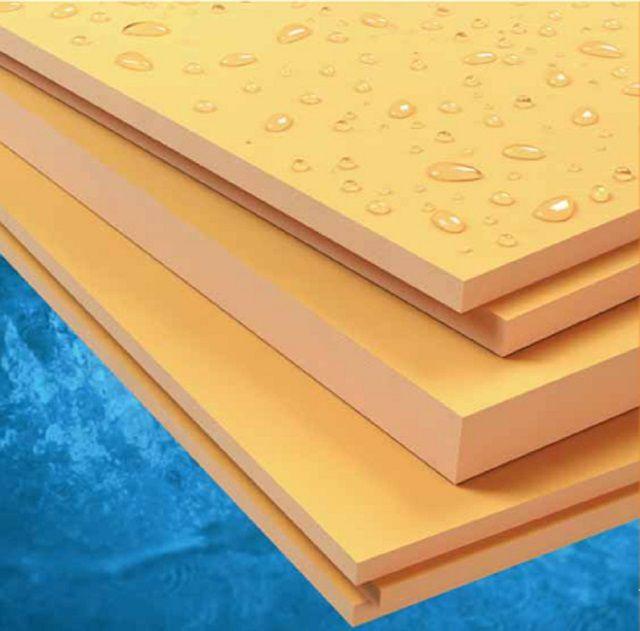 Экструдированный пенополистирол (ЭППС) отличает высокая прочность при хороших термоизоляционных качествах