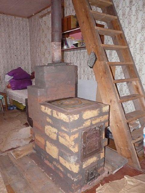 Небольшая печь из кирпича для дома своими руками