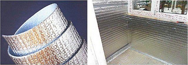 Фольгированный рулонный утеплитель резко повышает эффективность термоизоляционной системы в целом