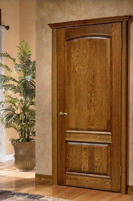 Двери из натурального массива всегда смотрятся великолепно