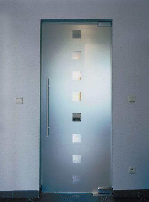 Маятниковая дверь может открываться в обе стороны