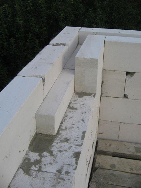 Армпояс сплошной, по всему периметру стены